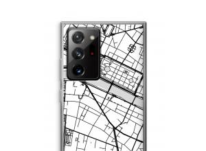 Zet een stadskaart op je  Galaxy Note 20 Ultra / Note 20 Ultra 5G hoesje