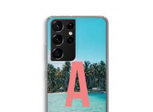 Maak zelf je Samsung Galaxy S21 Ultra hoesje met je monogram