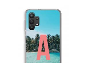 Maak zelf je Galaxy A32 5G hoesje met je monogram