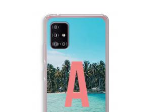 Maak zelf je Samsung Galaxy A51 5G hoesje met je monogram
