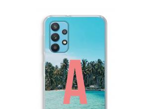 Maak zelf je Samsung Galaxy A32 4G hoesje met je monogram