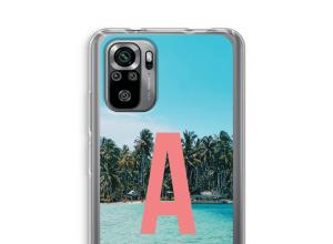 Maak zelf je Xiaomi Redmi Note 10S hoesje met je monogram