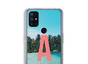 Maak zelf je OnePlus Nord N10 5G hoesje met je monogram