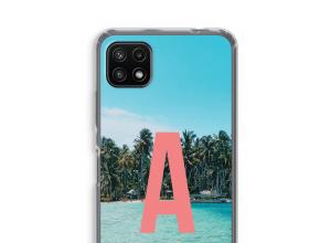 Maak zelf je Samsung Galaxy A22 5G hoesje met je monogram