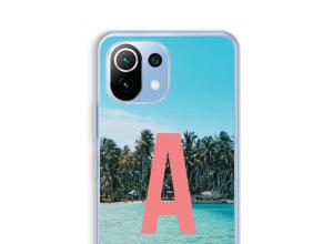 Maak zelf je Xiaomi Mi 11 Lite hoesje met je monogram
