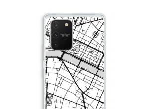 Zet een stadskaart op je  Samsung Galaxy S10 Lite hoesje