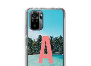 Maak zelf je Xiaomi Redmi Note 10 Pro hoesje met je monogram