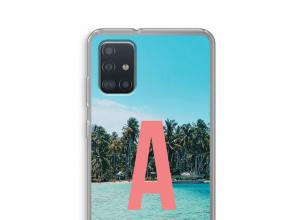 Maak zelf je Samsung Galaxy A52s 5G hoesje met je monogram